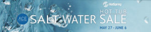 Salt Water Hot Tub Sale at Hot Spring Spas of Panama City
